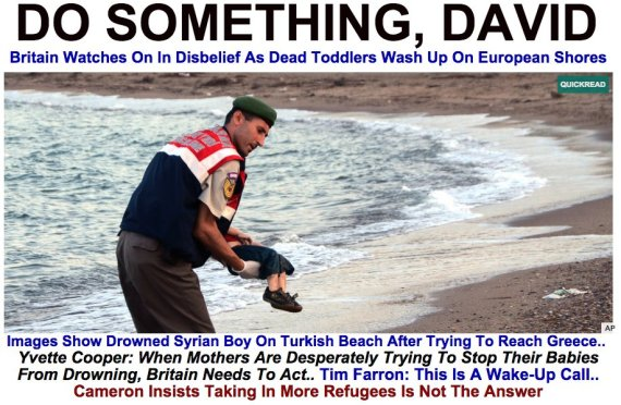 splash dead syrian boy