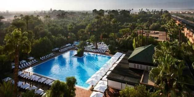 La Mamounia de Marrakech a été élue en septembre 2015 meilleur hôtel du monde par un magazine anglais