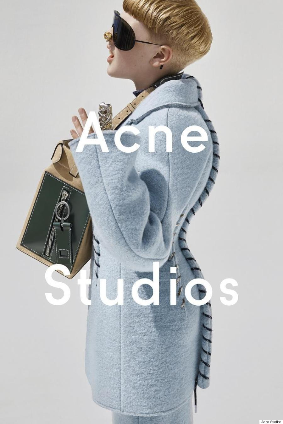 Acne Studioss New Womens Campaign Stars a Preteen Boy pictures