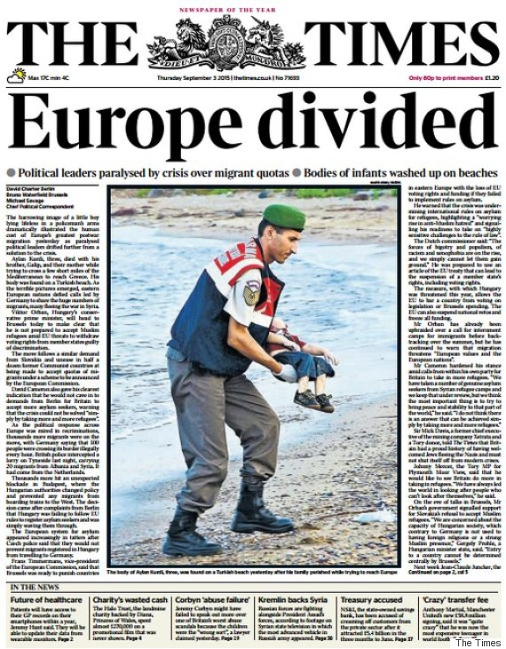 migrant crisis the times