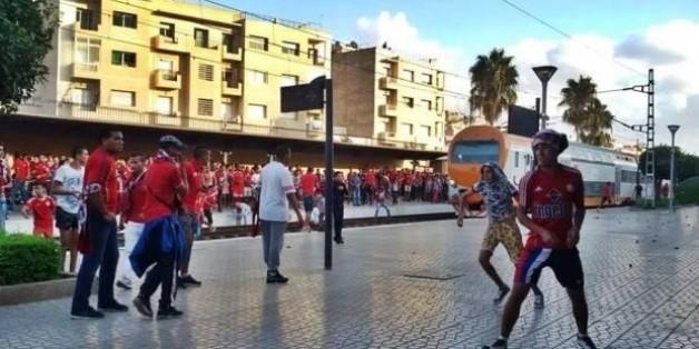 Des hooligans saccagent la gare de Salé