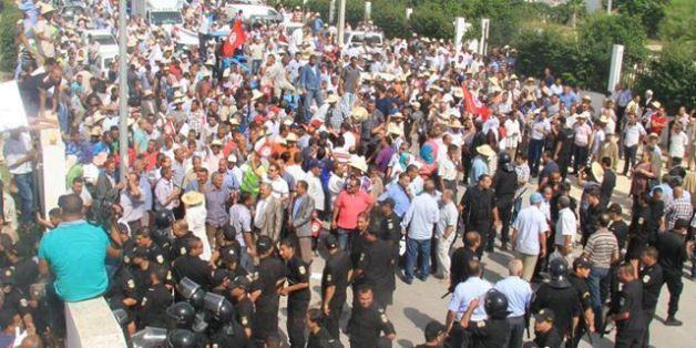 UTAP: La police empêche les manifestants de rejoindre le ministère de l'agriculture
