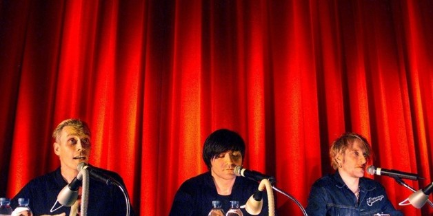 """""""Die Ärzte"""" sind Sänger Farin Urlaub, Bassist Rodrigo Gonzales und Schlagzeuger Bela B (v.l.n.r.)"""