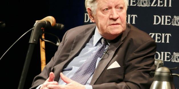 Von 1974 bis 1982 Kanzler der BRD: Helmut Schmidt