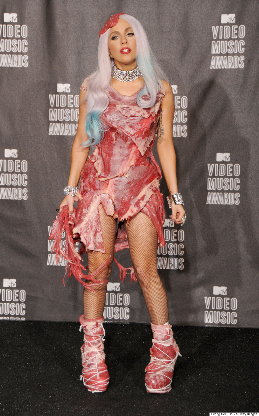 Forum on this topic: Lady Gaga's famous meat dress goes on , lady-gagas-famous-meat-dress-goes-on/