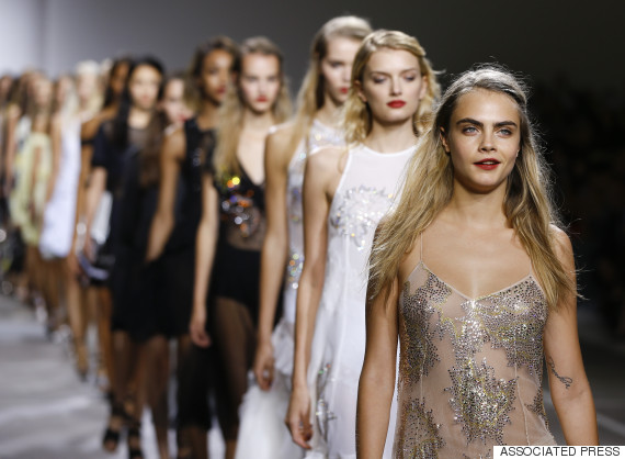 cara delevingne london fashion week
