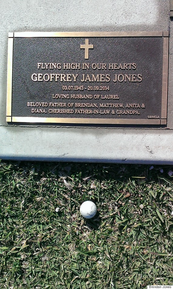 geoff jones headstone