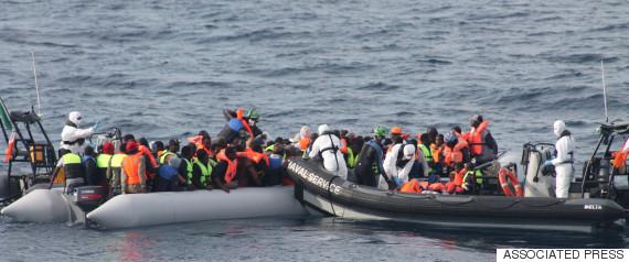 immigrants mediterranean