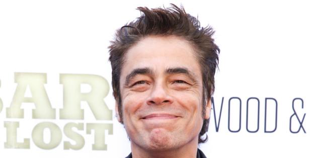 """Die Freude über eine Rolle in """"Star Wars"""" dürfte bei Benicio del Toro groß sein"""