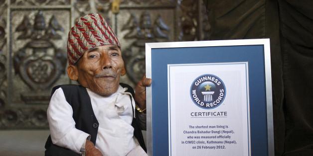 Chandra Dangi était l'homme le plus petit du monde