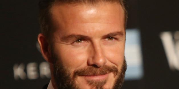 Rein optisch würde David Beckham so manchen Hollywood-Streifen bereichern