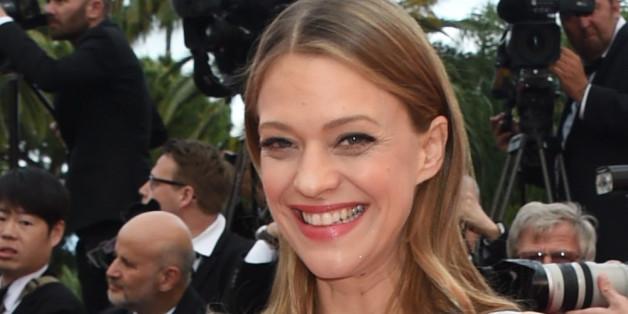 Heike Makatsch beim Filmfest in Cannes: Die einstige Musikfernsehen-Moderatorin gehört längst zu den deutschen Schauspielgrößen