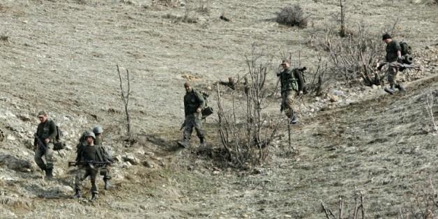 Des soldats turcs tués et d'autres blessés dans une attaque des rebelles kurdes du Parti des travailleurs du Kurdistan (PKK) dans le sud-est du pays  © AFP/Archives
