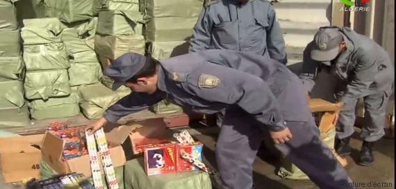 pétards algérie douaniers