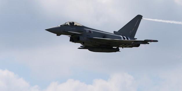 Deutsche Eurofighter fangen russische Jagdbomber im Baltikum ab