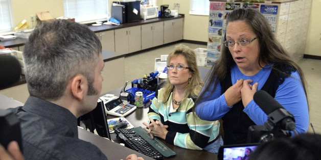 How Kim Davis' Defenders Are Sounding Increasingly Absurd and Desperate