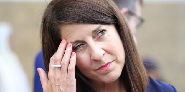 Labour leadership contender Liz Kendall visits the Gurdwara Sri Guru Singh Sabha Southall, west London. PRESS ASSOCIATION Photo. Picture date: Wednesday August 12, 2015. Photo credit should read: Jonathan Brady/PA Wire