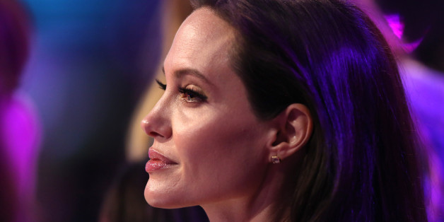Angelina Jolie appears in the audience at Nickelodeon's 28th annual Kids' Choice Awards at The Forum on Saturday, March 28, 2015, in Inglewood, Calif. (Photo by Matt Sayles/Invision/AP)