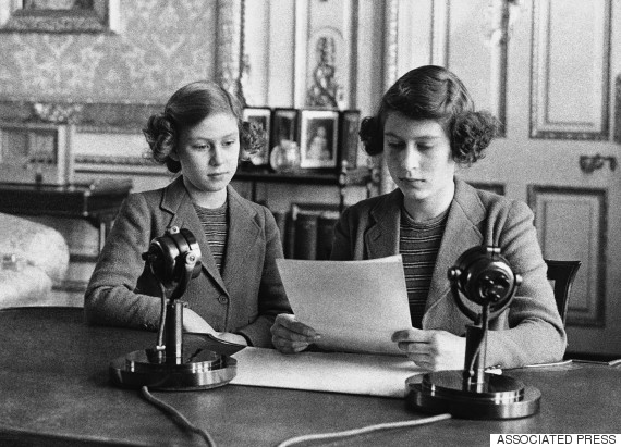 princess elizabeth 1940 radio