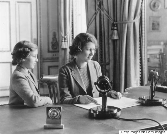 princess elizabeth 1940 radio