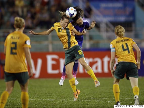 australia women soccer