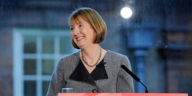 Deputy Labour leader Harriet Harman at Labour HQ in London, speaking about how Labour would move on from an election defeat.