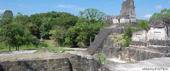 jungle ruins maya