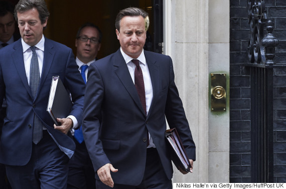 David Cameron Sent Home From Parliament Over 'Inappropriate' New Haircut
