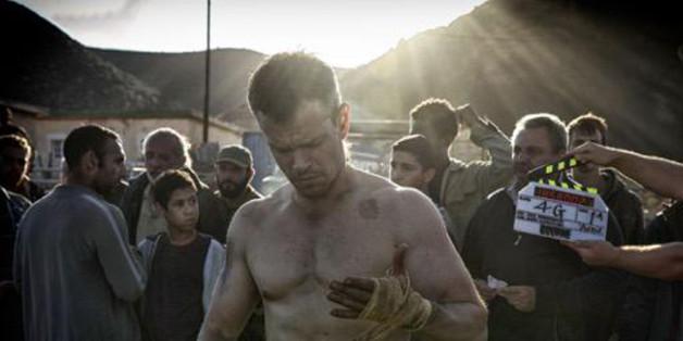 Matt Damon alias Jason Bourne