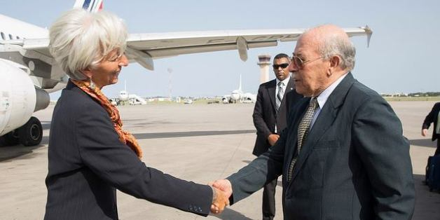Christine Lagarde et Chedli Ayari