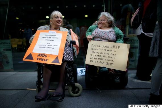 disabled cuts uk