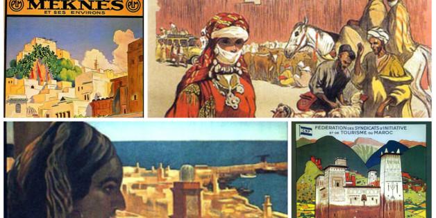Le Maroc d'antan au travers des affiches peintes du XXème siècle