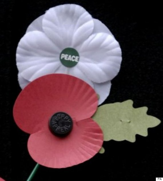 white poppy remembrance day
