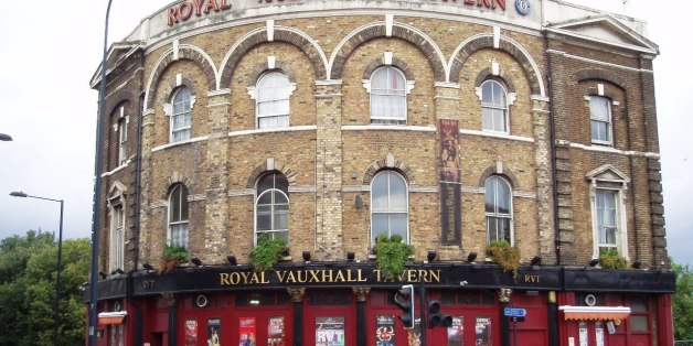 It looks closed from this photo, but it's not. In many ways this is less a pub than a venue, but it serves beer and puts on some good events.