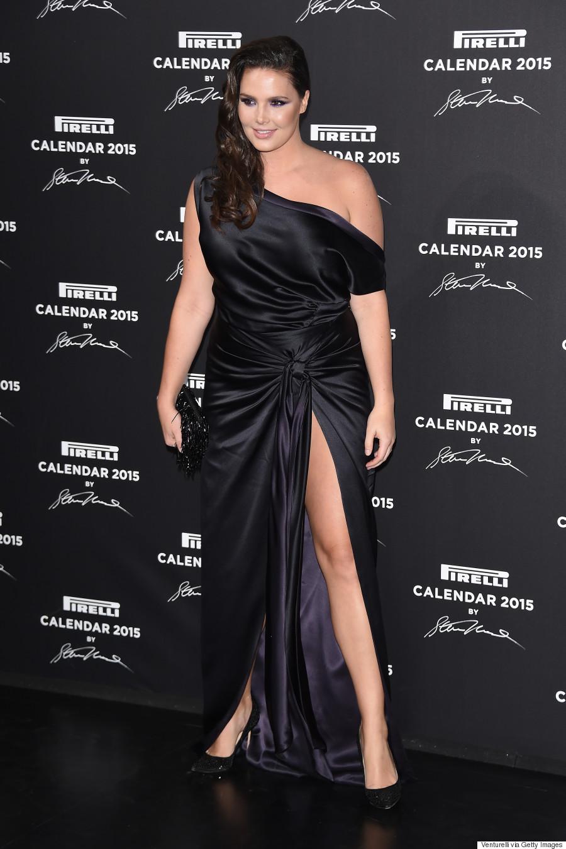 Candice Huffine Pirelli