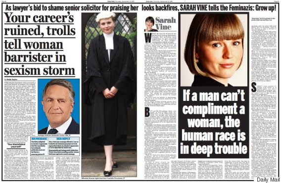 daily mail sarah vine