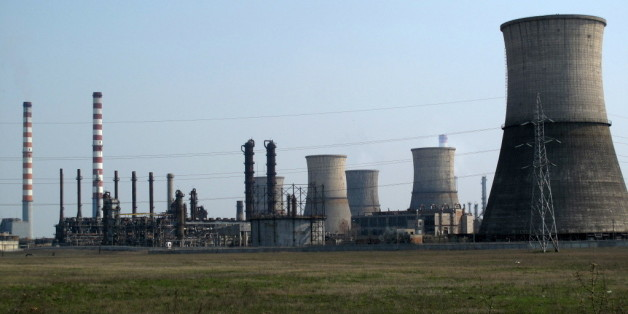 rafinierie de pétrole russe à Ploiesti