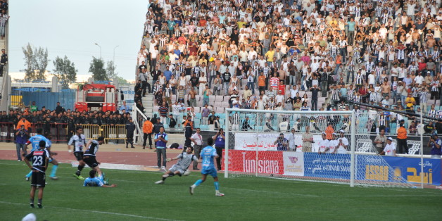 Finale coupe de Tunisie de Football 2009 au stade de Radès entre le CSS et Monastir (1-0)