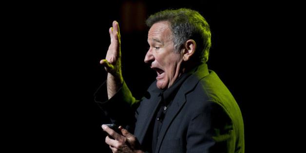 Robin Williams wurde auch als Stand-up-Comedian gefeiert