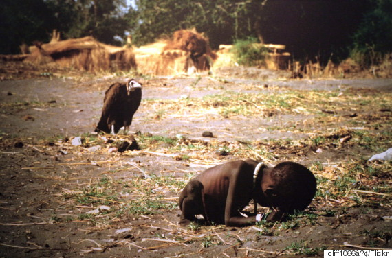 vulture girl sudan