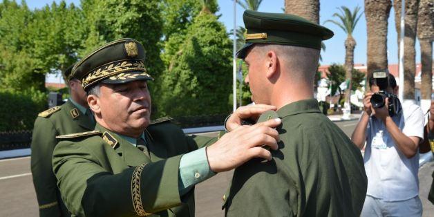 Le général-major Menad Nouba, nouveau patron de la gendarmerie nationale