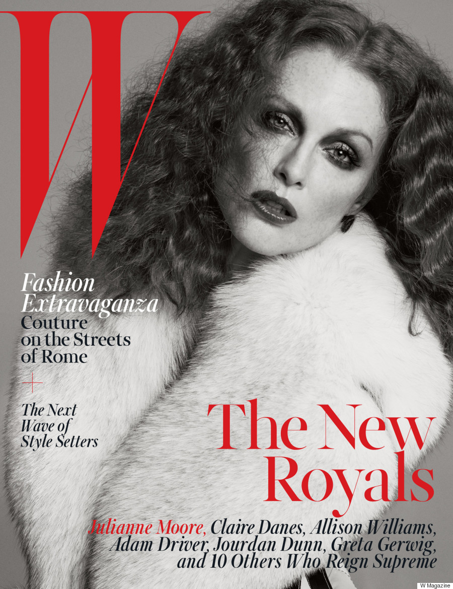 julianne moore w magazine