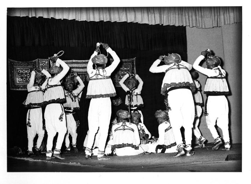 recording folk dance music of saurashtra