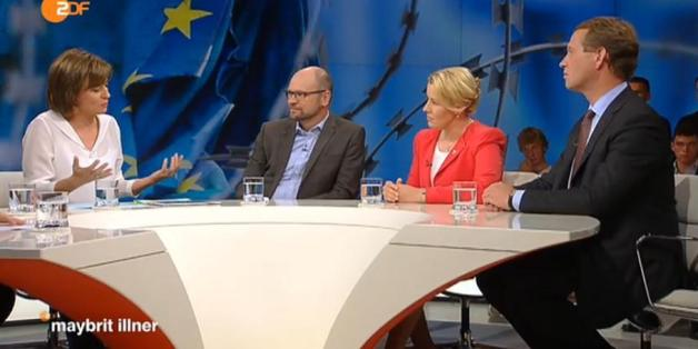 """Neuköllns Bürgermeisterin Franziska Giffey bei """"Maybrit Illner"""""""