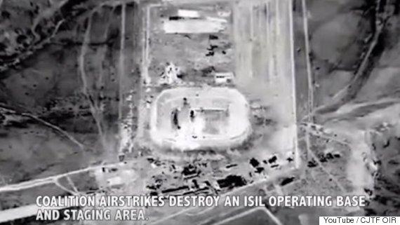 coalition air strike