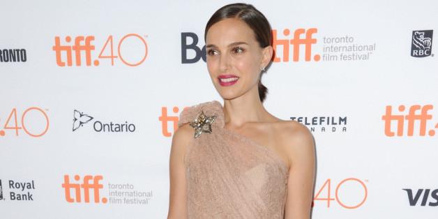 Natalie Portman bezauberte in einem nudefarbenen Spitzenkleid auf dem roten Teppich