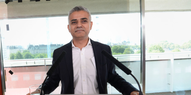 Sadiq Khan after it was announced that he has been chosen as the Labour candidate to run for London Mayor in 2016.