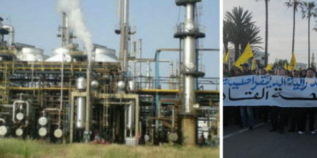 """Crise à la Samir : """"Al Amoudi dégage"""", scandent les salariés de la raffinerie"""