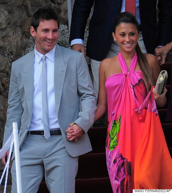 lionel messi girlfriend