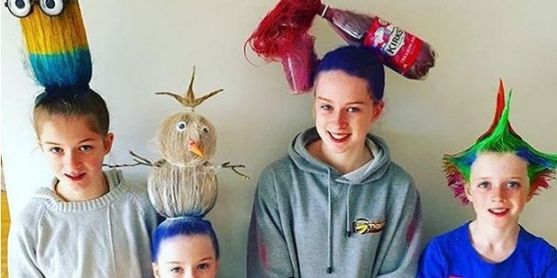 Parents Take 'Crazy Hair Day' To A Whole New Level